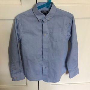 Boys light blue dress shirt in size 6